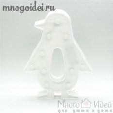 Светодиодный декоративный ночник Пингвин