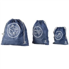 Синий набор сумок Res