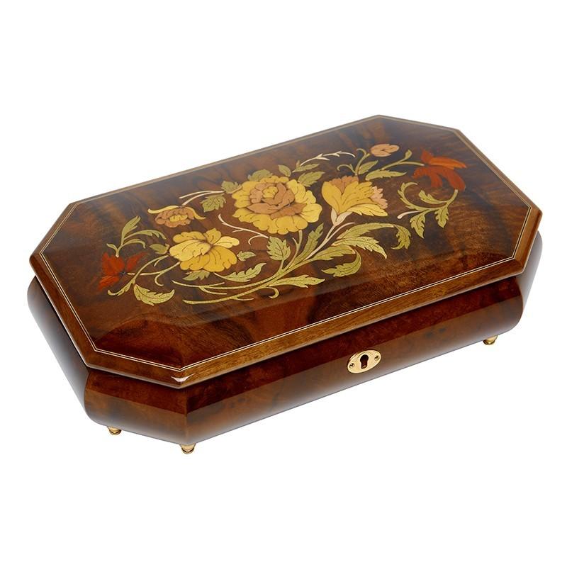 Музыкальная шкатулка для ювелирных украшений,  AW-02-05