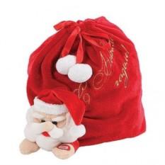 Красный мешок для подарков Mister Christmas