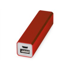 Красное портативное зарядное устройство Брадуэлл