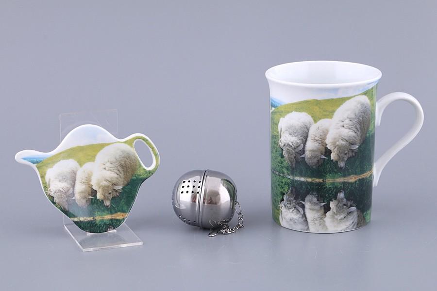 Чайный набор с символом года, 3 предмета