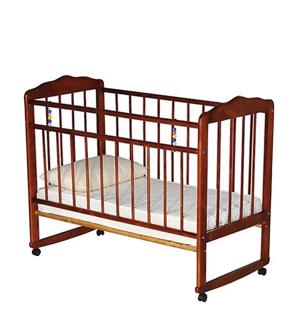 Кровать-колесо Женечка-3, цвет: вишня