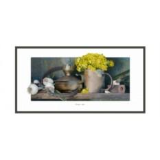 Постер Натюрморт. Горчица и чеснок