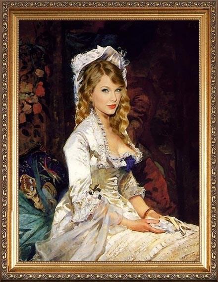 Оригинальный молодой портрет в День рождения