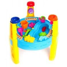 Игровой стол для песка и воды с набором формочек