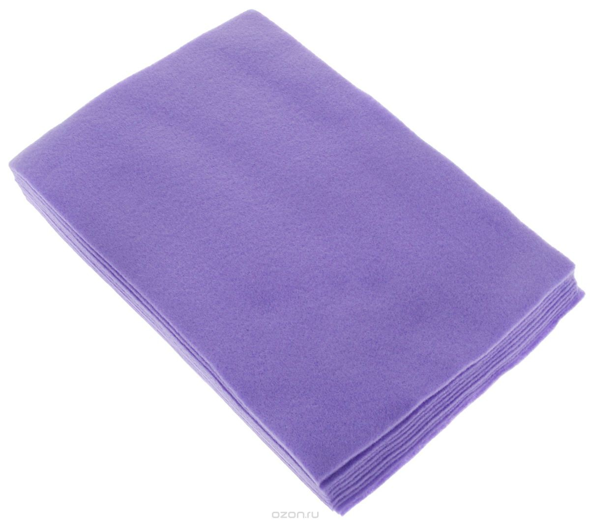 Отрезок фетра 20х30 см, фиолетовый
