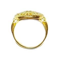 Кольцо Солнце, золото 750
