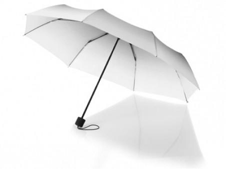 Темно-синий складной механический зонт Shirley