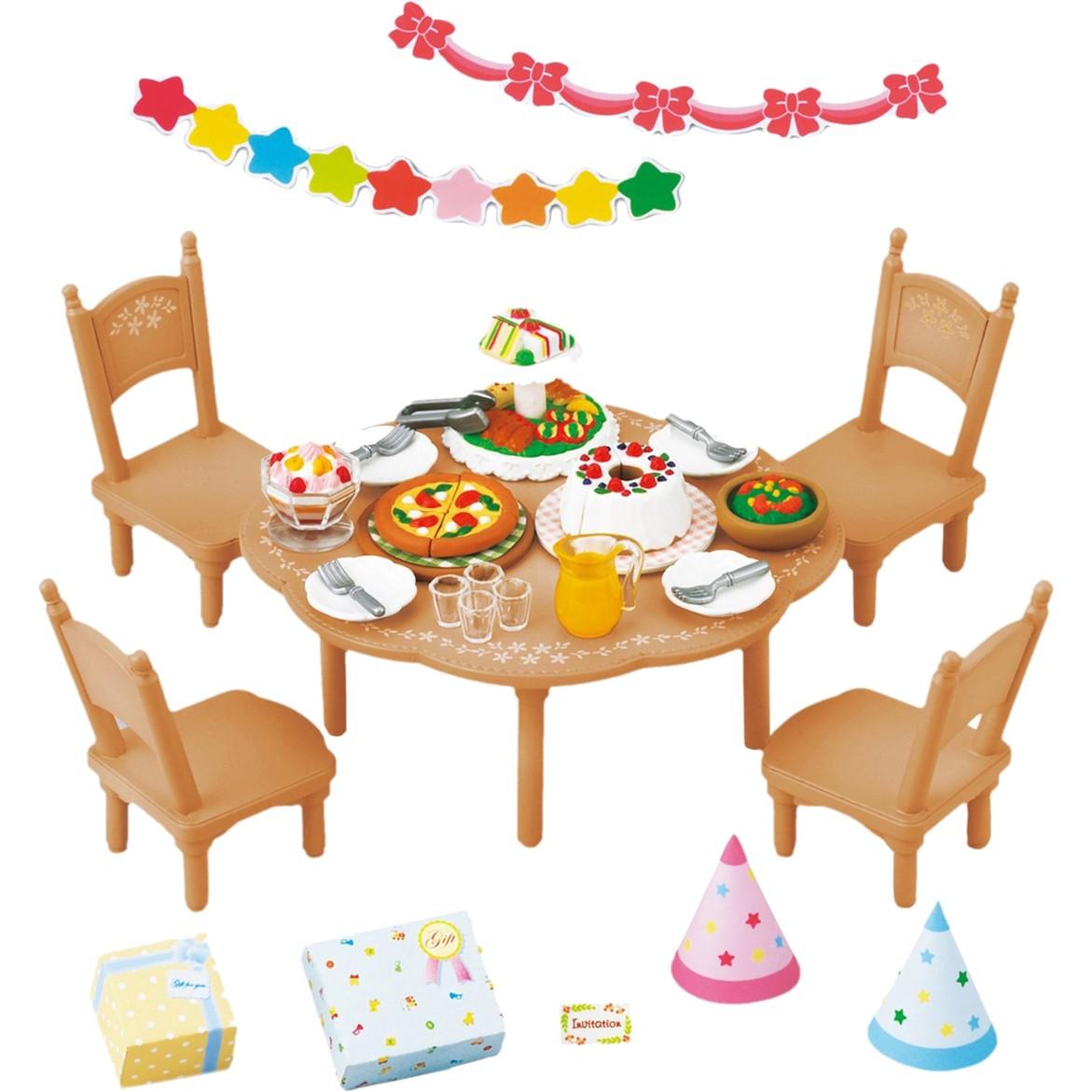 Sylvanian Families Игровой набор для вечеринки