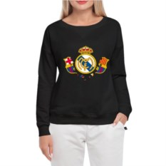 Женский свитшот Реал рвет Барсу
