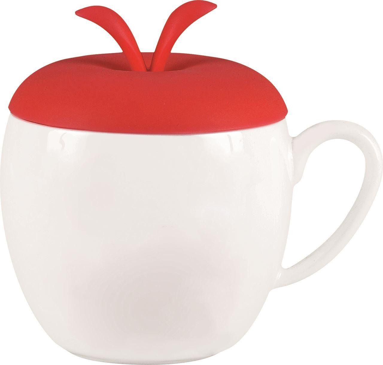 Красная кружка Яблочко