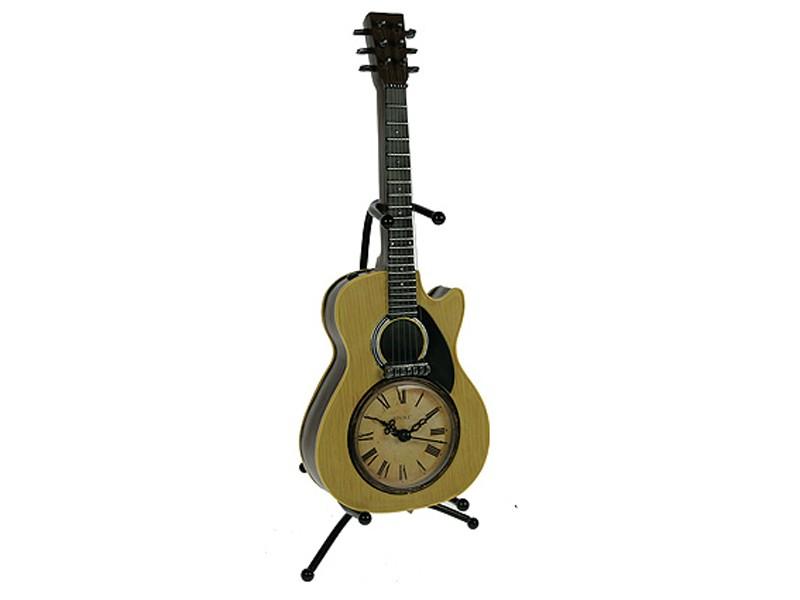 Настольные часы Ретро-гитара Acoustic