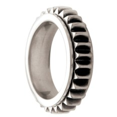 Кольцо из олова Mechanical twist