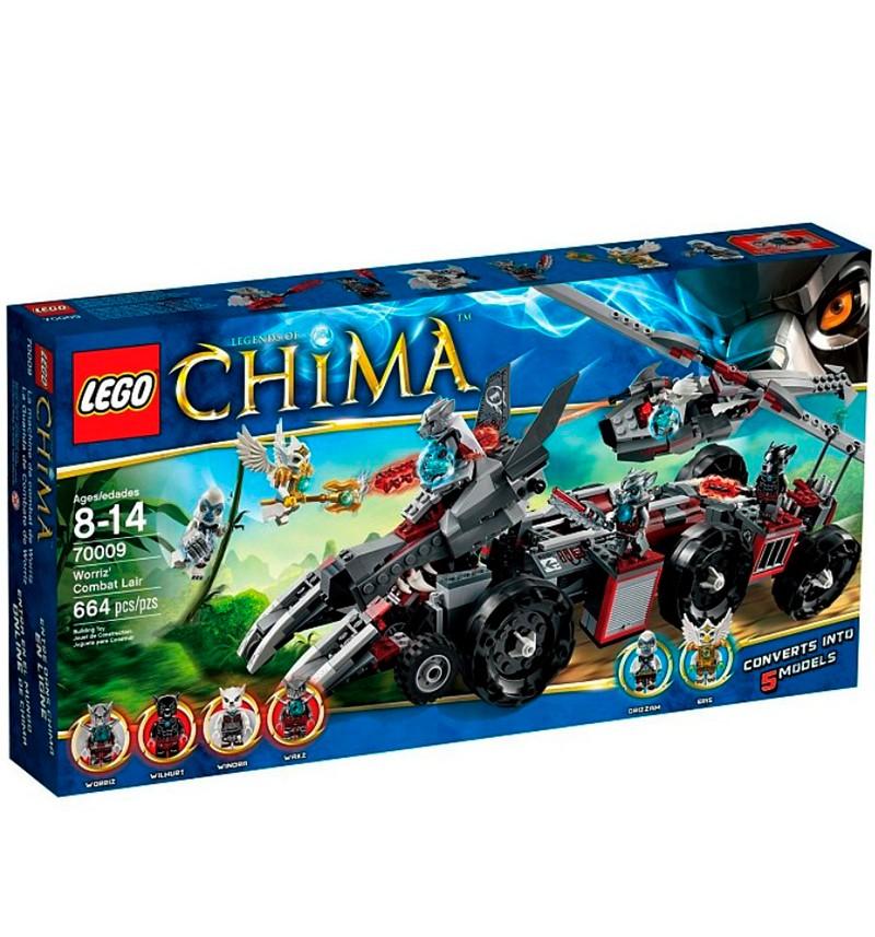Конструктор Lego Chima Бронетранспортёр Волка Воррица
