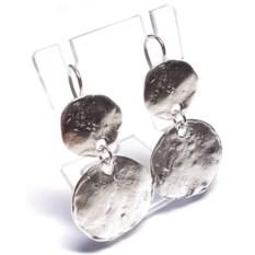Серьги Зеркала, серебро 925