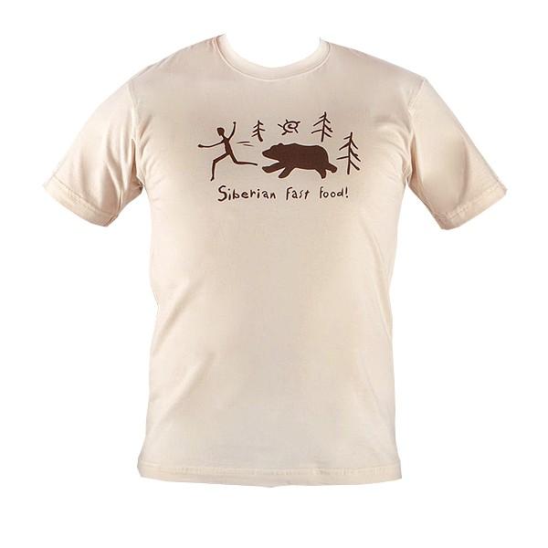Мужская футболка Siberian fast food