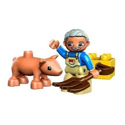 Lego Duplo «Фермер с поросёнком»