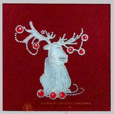 Картина Рождественский олень