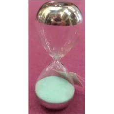 Голубые песочные часы на 5 минут