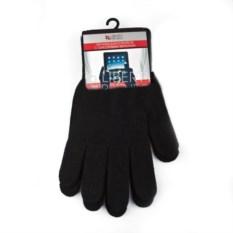Черные перчатки LP для сенсорных экранов