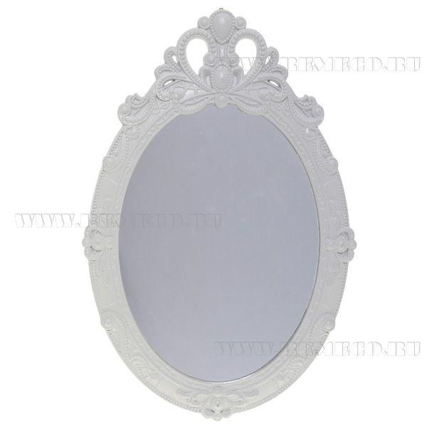 Настенное зеркало (цвет — белый)