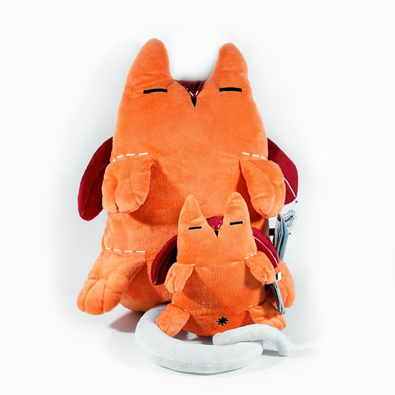 Мягкая игрушка-подушка Dooodolls Doo Fugi