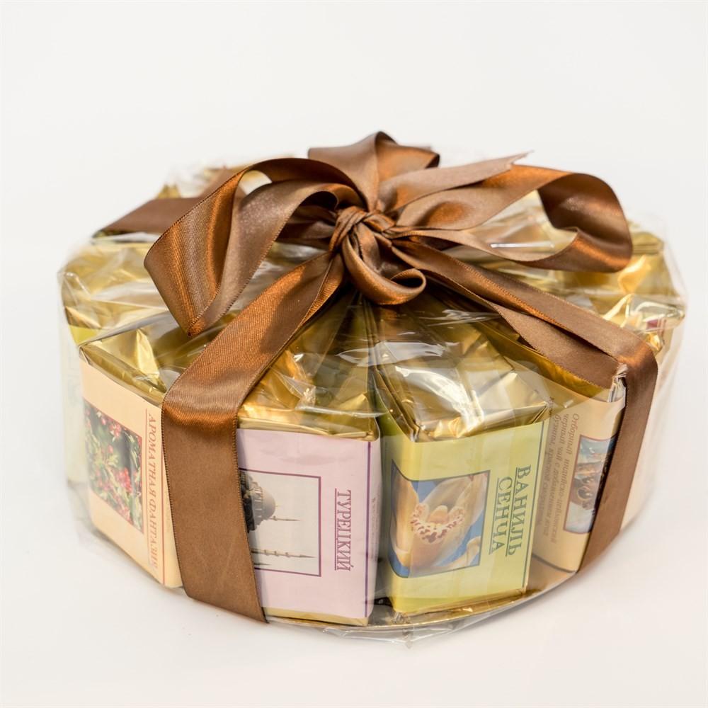 Подарочный чайный набор «Чайный торт» №2