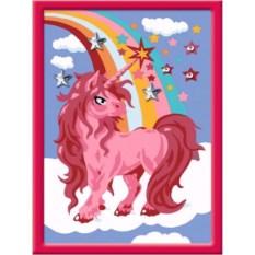 Раскраска по номерам Ravensburger Brilliant Единорог