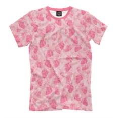 Мужская футболка Человеческие сердечки