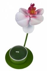 Подсвечник для свечи-таблетки Орхидея