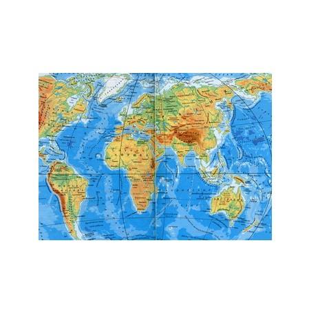 Обложка для загранпаспорта World Map