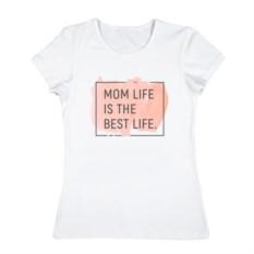 Женская футболка Mom life is the best life