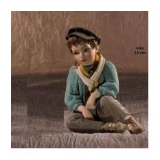 Коллекционная фарфоровая статуэтка Alex