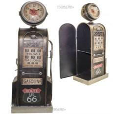 Модель ретробензоколонки с часами (53 см)