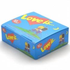 Жвачка Love is (клубника-банан, 10 штук)