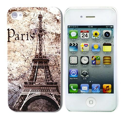 Чехол для iPhone 4/4S Paris