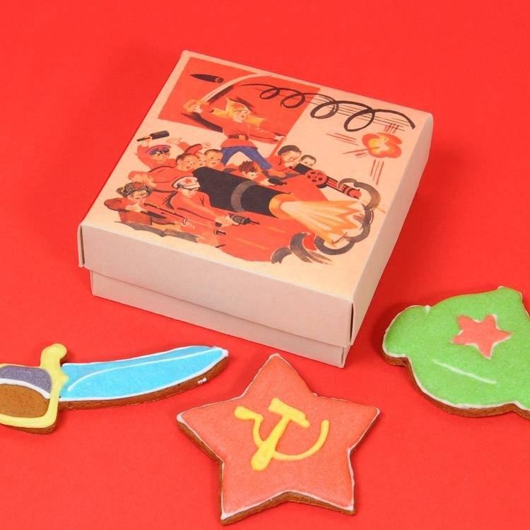 Имбирное печенье Красная армия