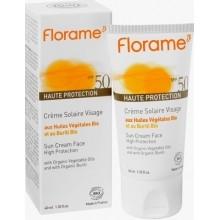 Солнцезащитный крем для лица SPF50, FLORAME