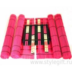 Набор для суши розового цвета