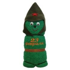 Банное полотенце Солдатик. 23 февраля