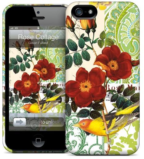 Чехол для iPhone 5 Gelaskins Rose Collage