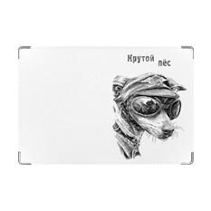 Обложка на ветеринарный паспорт Крутой пес