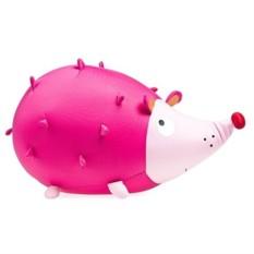 Розовая мягконабивная игрушка Ежик