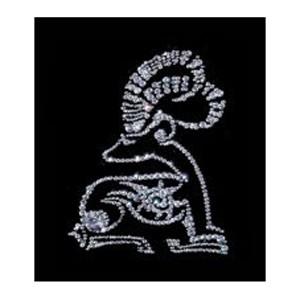 Хрустальная картина «Козерог»