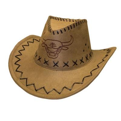 Ковбойская шляпа с орнаментом