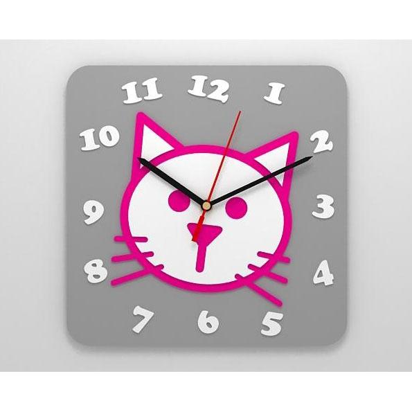 Детские часы «Кошка»