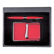 Подарочный набор из 2-х предметов красного цвета