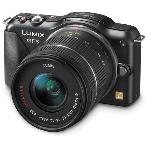 Фотоаппарат PANASONIC Lumix DMC-GF5 Kit DMC-GF5KEE-K