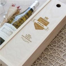 Коробка для вина Лучший папа